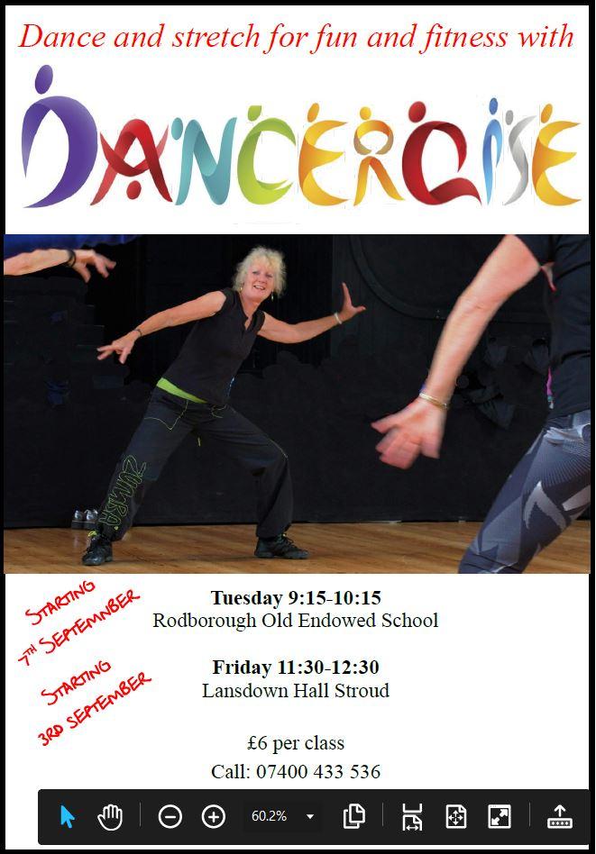 dancercise poster