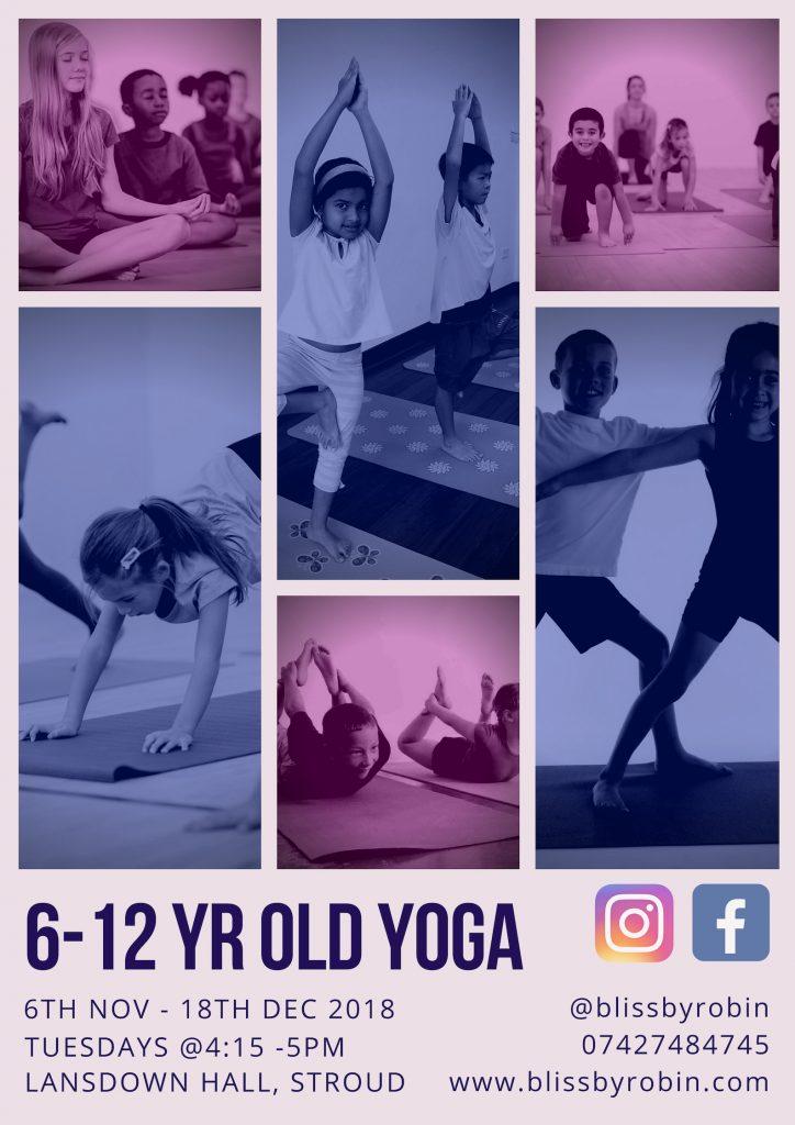 6-12 yr old yoga