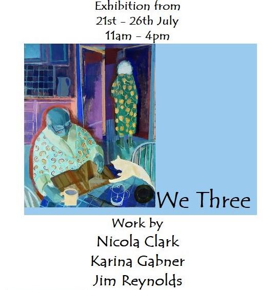 we three exhibition