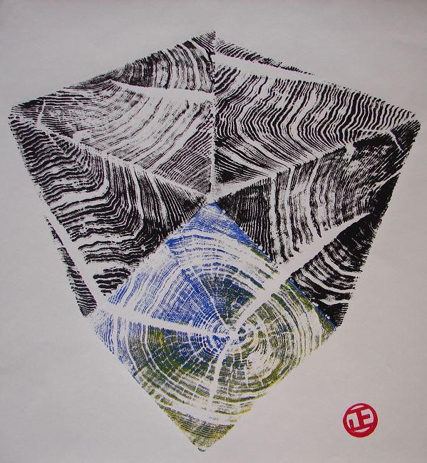 Carbon prints art exhibition