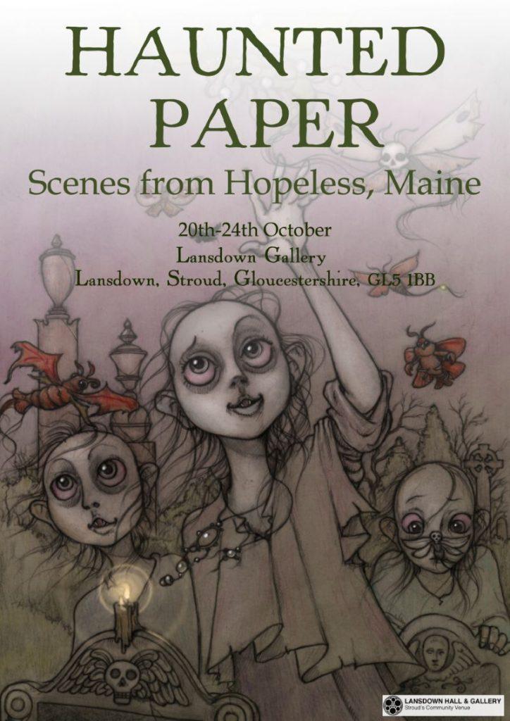 haunted paper